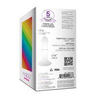 Silicone Anal Plug by nobu rainbow